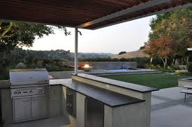 outdoor kitchen contemporary-patio