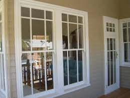 wonderful single hung window by reliabilt windows with white frame on siding for home exterior double pane lowes23