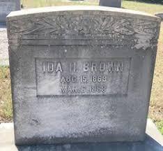 Ida Harper Brown (1868-1959) - Find A Grave Memorial