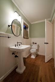 can i install laminate under a bathroom