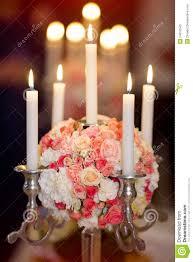Wedding Flowers Decoration Wedding Flowers Decoration Whit Candles Stock Photo Image 54912543