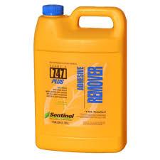 sentinel formula 747 plus 128 oz adhesive remover