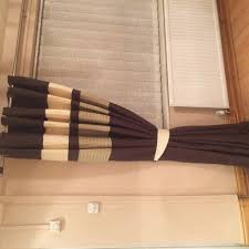 Kitchen Blinds Homebase Homebase Eyelet Curtains Brown Cream And Lime Green 90x 90 In