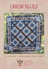 Downloadable Quilt Patterns - Sharon Keightley Quilts & Union Blues Quilt   Sharon Keightley Designs Adamdwight.com