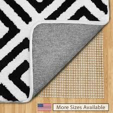 the original gorilla grip non slip area rug pad made in usa 5 x 7