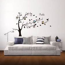 hogar pegatina pared home decor tree pattern photo frame