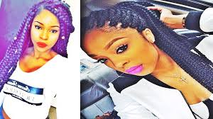Latest Box Braids Hairstyles For African American Women Youtube