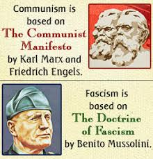 communism vs fascism