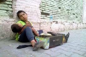 نتیجه تصویری برای کودکان و مواد مخدر