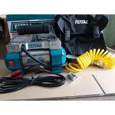 ⭐Máy bơm hơi lốp xe ô tô 12V Total TTAC2506T: Mua bán trực tuyến Máy nén  khí & bơm với giá rẻ