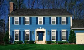 blue exterior paintExpertlyCrafted Paint Schemes For Your Home Exterior