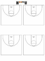 best photos of blank basketball court diagram   blank basketball    printable basketball court diagrams for plays