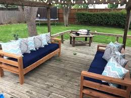 chair fabulous outdoor wood sofa 35 corner dining set ana white 2x4 sofas diy projects furniture