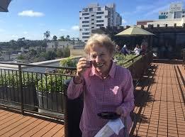 resident enjoying life at merrill gardens at bankers hill
