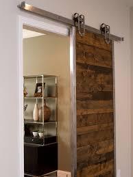 Custom Single Sliding Barn Doors For Homes With Artwork Door Panels As Well  ...