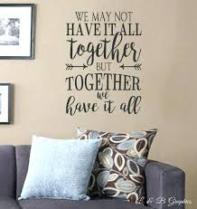 Vinyl Wall Quotes Classy Vinyl Wall Decals Quotes Theyogatreeme