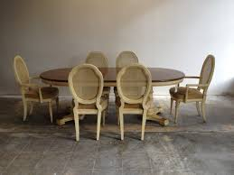 soft brown wooden dining chair with curved round wicker backrest and from 11 high back high back chairs for dining room