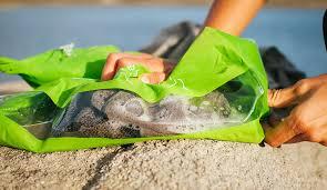 Travel Washing Machine Amazoncom Scrubba Portable Laundry System Wash Bag Light Green