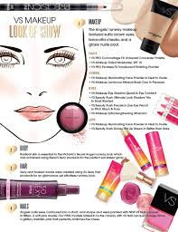 get the look the makeup hair and nails at the victoria s secret fashion show 2016