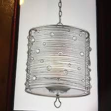 golden lighting joia peruvian silver three light chandelier 1993 3p ps