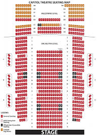Capitol Theater Seating Chart The Most Incredible Capitol Theater Seating Chart Seating