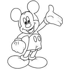 Small Picture Printable Coloring Pages Of Mickey Mouse Coloring Pages