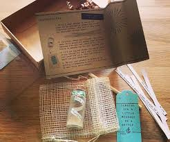 letter in a bottle message in a bottle kit
