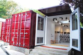 shipping container home office. Container Electrics Example | Art Gallery Shipping Home Office