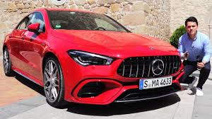 You don't even have to drive it to sense the difference. 2020 Mercedes Cla 45 Amg 4matic Edition Full Review Drive Cla45s Sound Interior Exterior Youtube