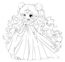 Sailor Moon Crystal Coloring Pages Blank By Usagisailormoon20 On