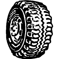 tires clipart black and white. Inside Tires Clipart Black And White