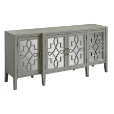 urban accents furniture. manry park burnished gray 4 door media credenza by urban accents alert1 furniture