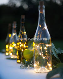 diy party decor ideas dinner decorations wedding table outdoor wine bottle lights il fullxfull diy