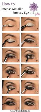 makeup ideas for prom intense metallic smokey eye tutorial these are the best makeup