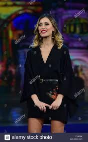 Neapel, Italien. 25 Mär, 2019. Fatima Trotta während der vierten Episode  der Show 'Made in den Sud