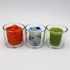 3 round votive candle holders with votives line jpg