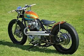 yamaha xs650 bobber bikes pinterest