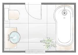 over bath shower layout