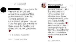 Lilian Taranto, esposa de Renato Aragão, rebate fama de