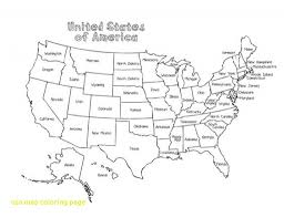 Introducing Us Map Coloring Page Pages United States Copy Usa With