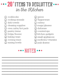 de clutter 20 things to declutter from the kitchen clean and scentsible