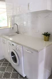 laundry ideas laundry white laundry cupboards gloss white ceramic sink on the ball bathrooms perth