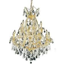 elegant lighting 2800d32g ss maria theresa mini chandeliers gold