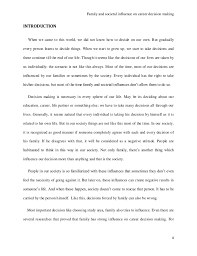 research paper on family and social influence on career decision maki 21 5