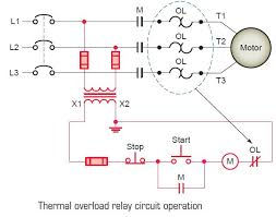 thermal overload relay circuit operation tech thermal overload relay circuit operation tech electrical electronics in 2019 electrical engineering electronics engineering