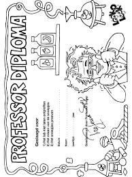 A En B Diploma Kleurplaat Diploma Zelf Jas Aandoen Spelen Pinterest