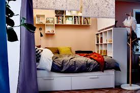 Ikea Bedroom Ideas For Small Rooms 15 ikea storage hacks: space savers for small  bedrooms
