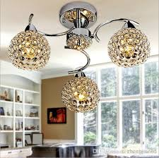 simple modern k9 crystal small ceiling chandelier for meals small living room restaurant dining room bedroom small type wrought iron chandelier blown