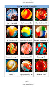 Marble Identification Chart Collecting Marbles A Beginners Guide Learn How To