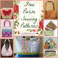 Purse Sewing Patterns Interesting 48 Free Purse Sewing Patterns AllFreeSewing
